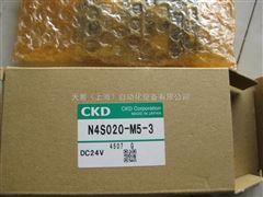 CKD电磁阀N4S020-M5-3