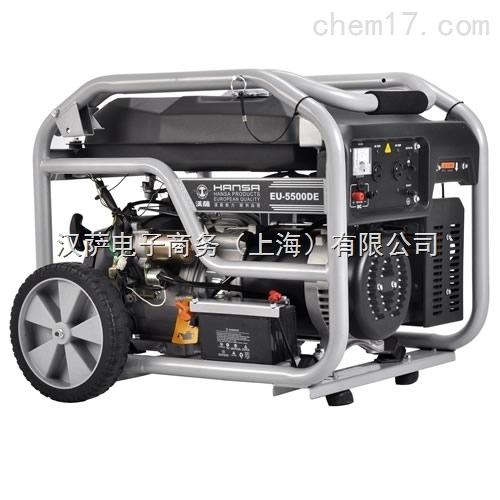 货车车载3kw汽油发电机eu-3000dc