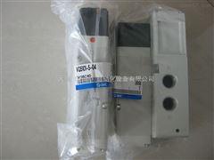SMC电磁阀VQ5101-5-04 5通先导式电磁阀插入式