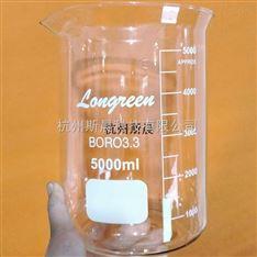 10000ml烧杯 玻璃刻度烧杯 低型烧杯10L