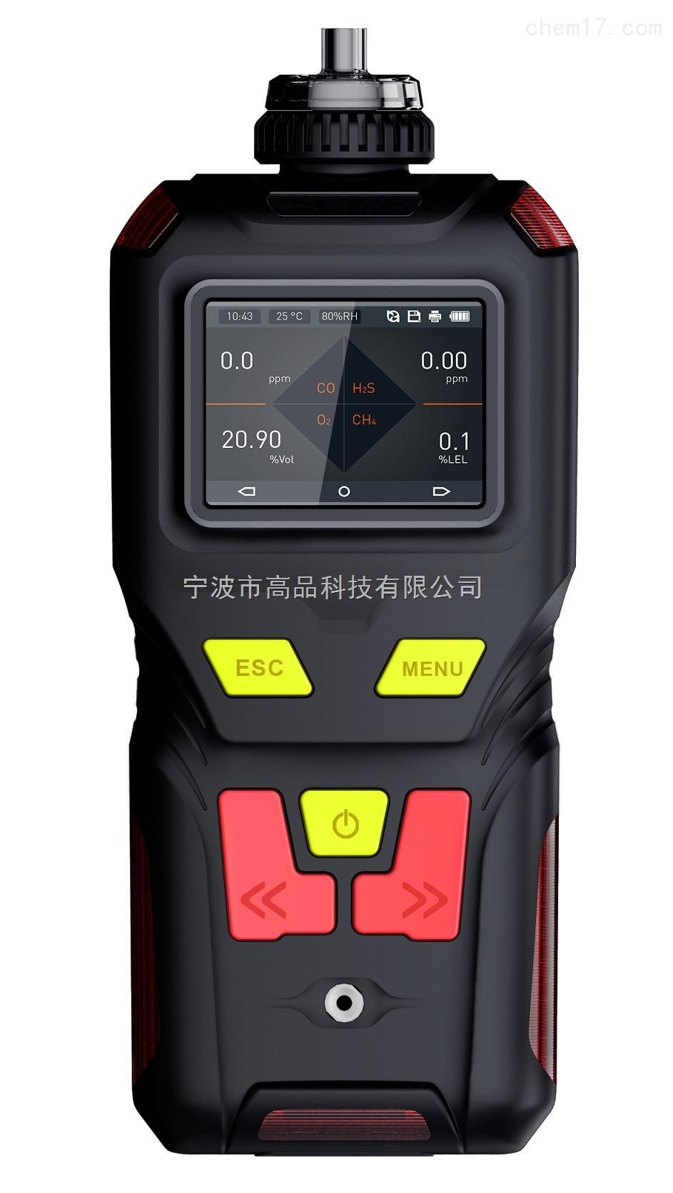 便携式可记录可燃气体检测报警仪
