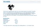 动物解剖放大镜 Roboz放大镜RS-6686 精密解剖专用放大镜