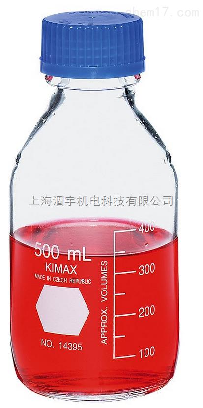 美国KIMBLE、KIMAX蓝盖试剂瓶 玻璃瓶 100ml 250ml