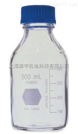 美国KIMAX、KIMBLE玻璃培养瓶 试剂瓶 蓝盖瓶2000ml 5000ml