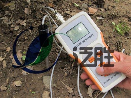 tdr-200 土壤水分温度速测仪