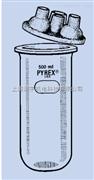 美国PYREX玻璃反应釜 3000ml