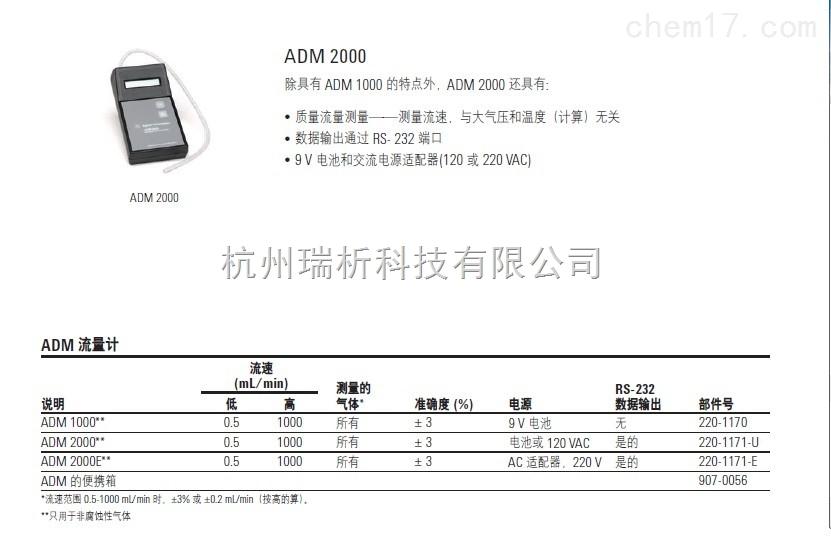 ADM2000流量计ADM2000流量计-220-1171-E