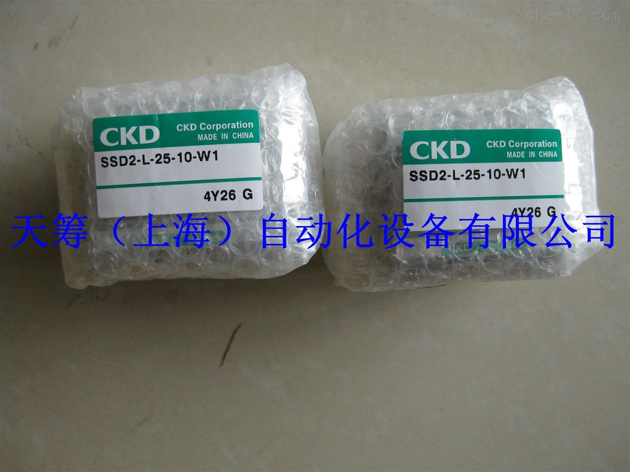CKD超紧凑型气缸SSD2-L-25-10-W1