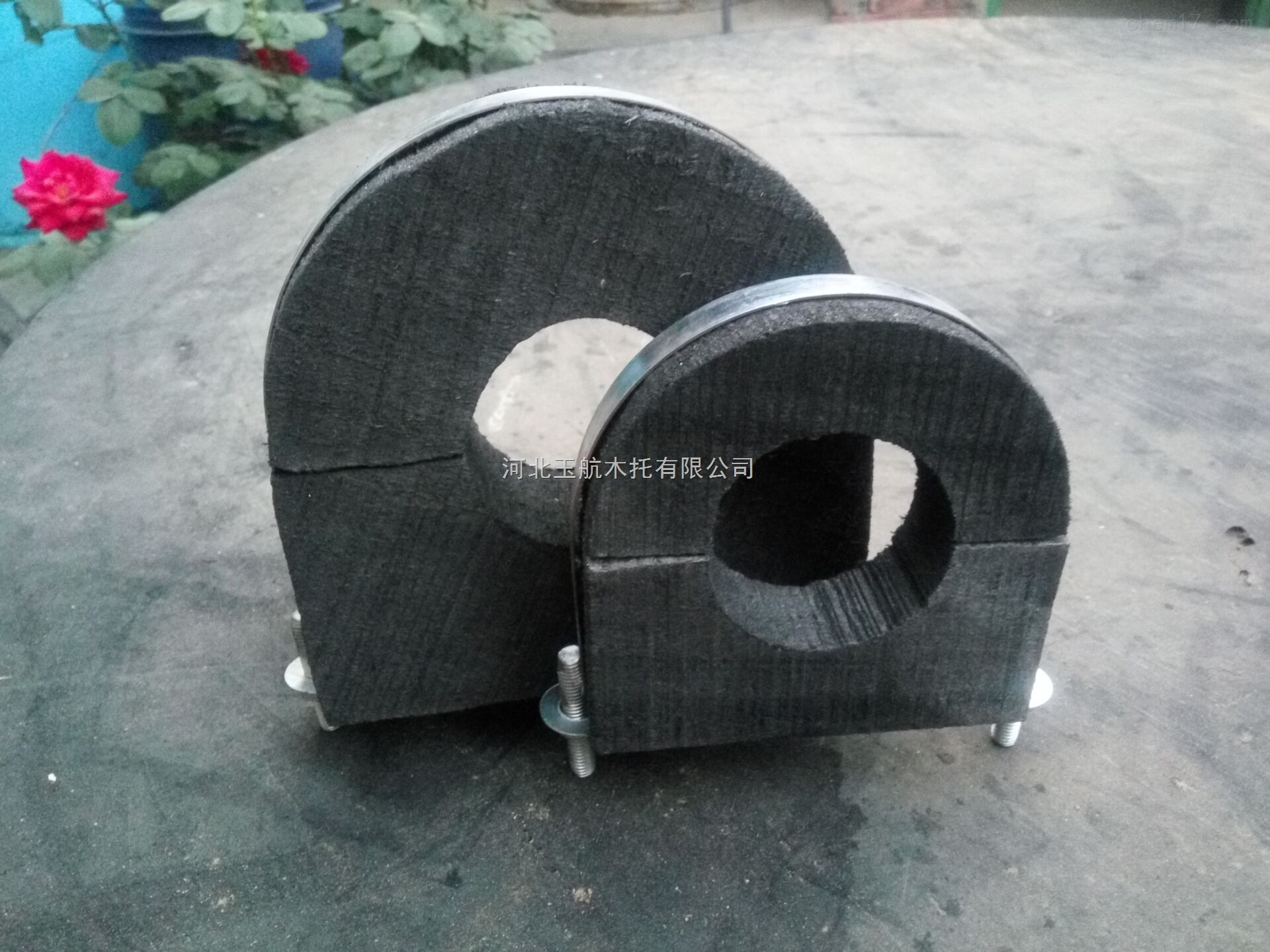 批发 加工 直销 冷凝水管木托U型镀锌铁卡