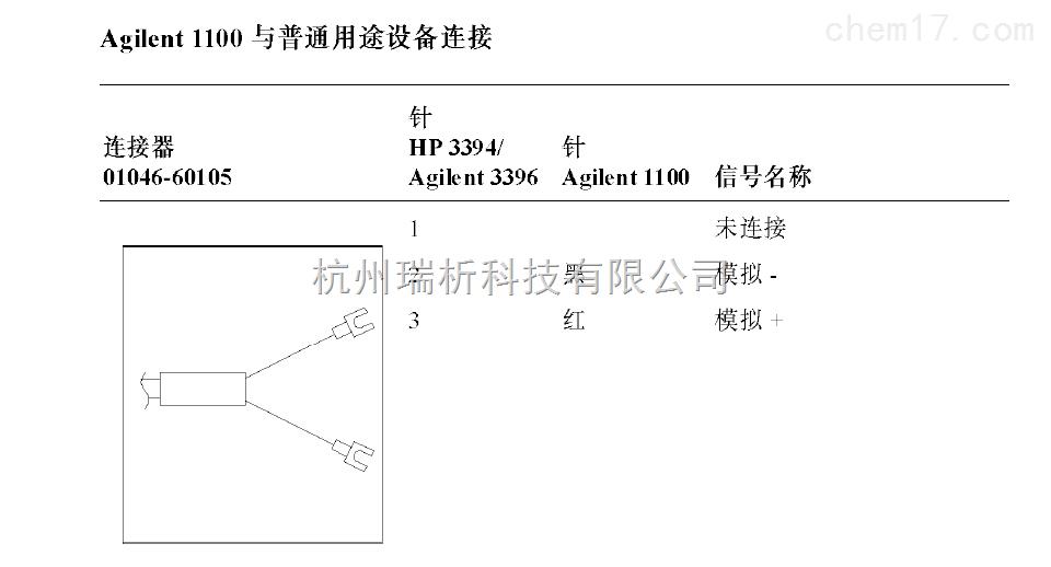 01046-6010501046-60105连接器111(安捷伦1100与普通用途设备连接)-