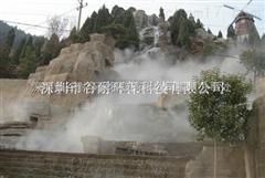 福建商业街造雾设备人造景系统