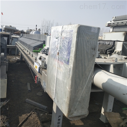 供应二手380平方自动拉板隔膜压滤机