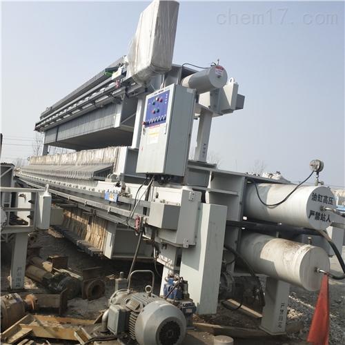 回收二手10-800平方自动拉板隔膜压滤机