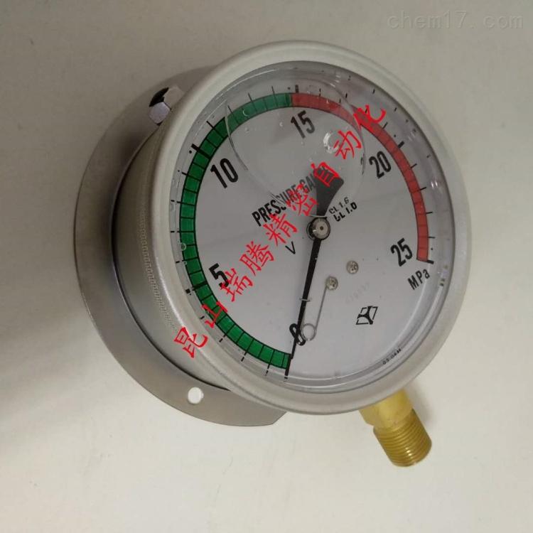 淀川计器压力表YODOGAWA充油耐振型
