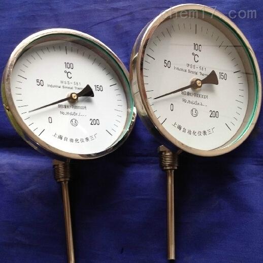 WSS-311/411系列径向双金属温度计