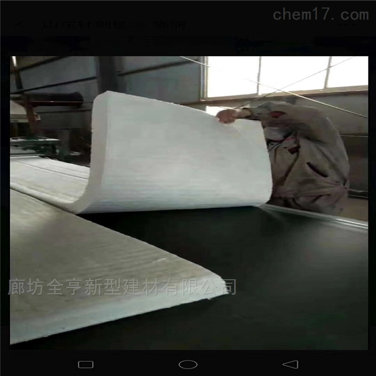 厂家生产100密度硅酸铝针刺毯