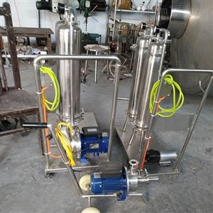 本厂闲置二手立式过滤机