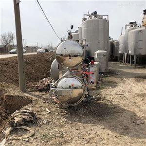 长期供应二手不锈钢半自动杀菌锅
