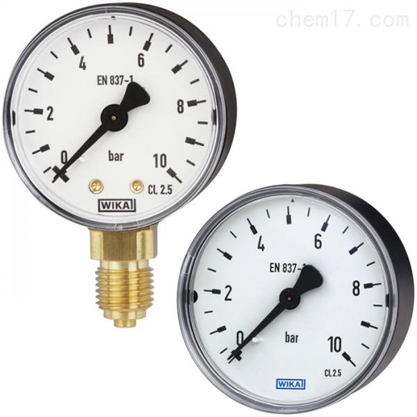 德国威卡WIKA平嵌隔膜式压力表