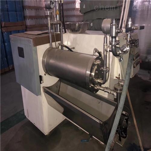 砂磨机二手油墨厂用30升大流量砂磨机出售