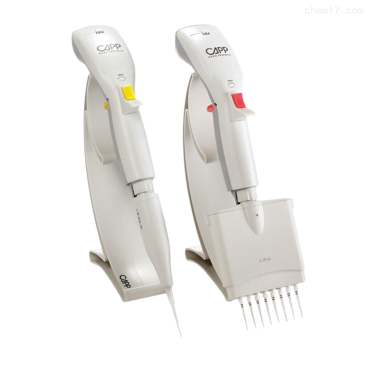 丹麦Capp Tronic 系列单道电动移液器
