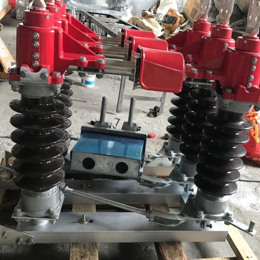 35kv铝合金触角柱上高压隔离开关GW4