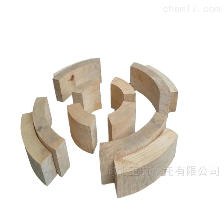 风管和水管安装空调木托 防腐垫木