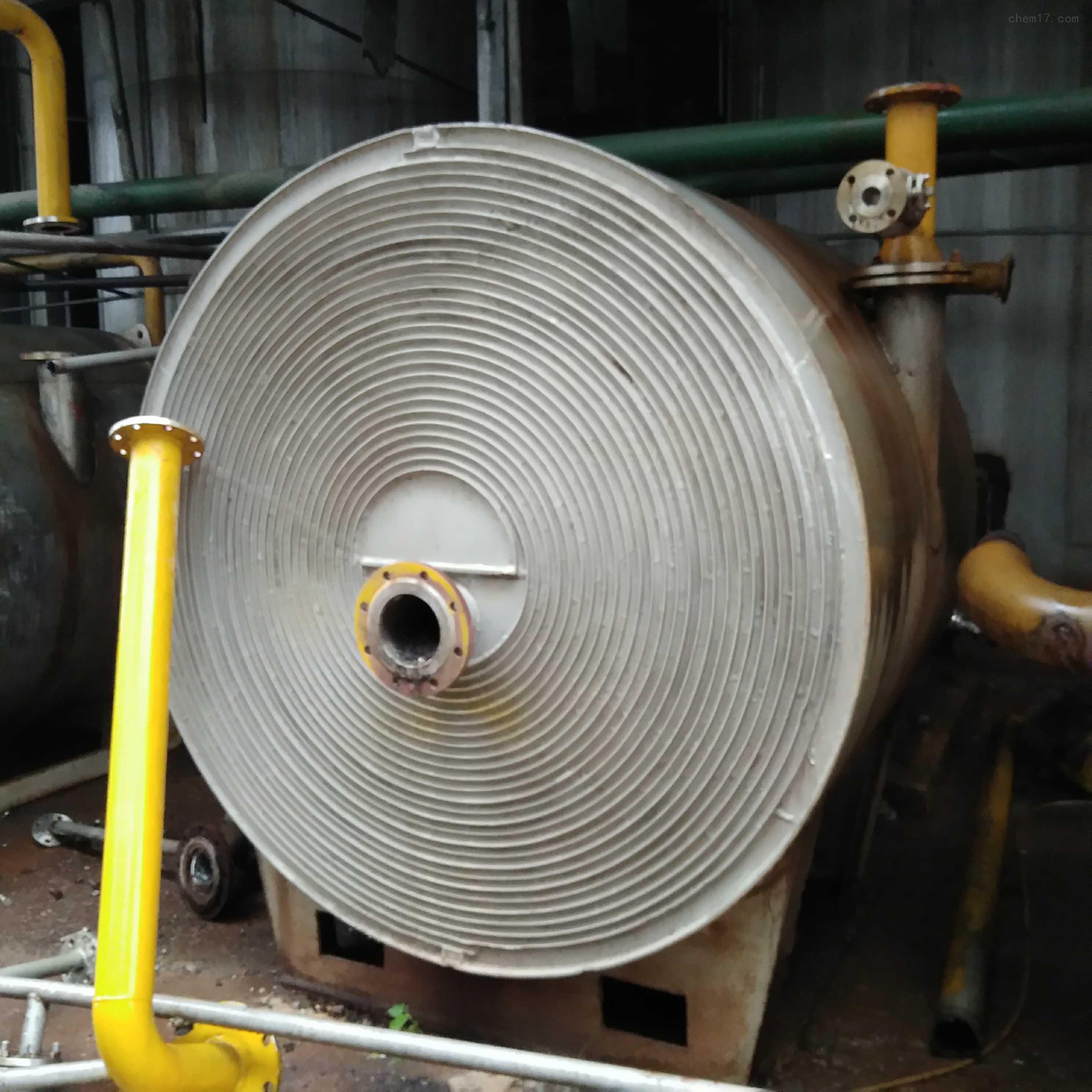 厂家价格回收二手螺旋板换热器(冷凝器)