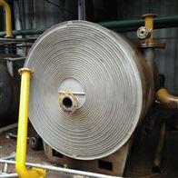 多种可选厂家价格回收二手螺旋板换热器(冷凝器)