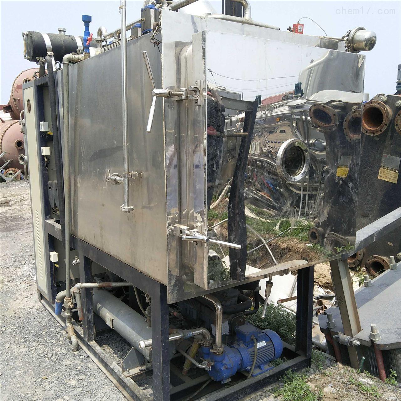 厂家回收二手东富龙真空冷冻干燥机 冻干机