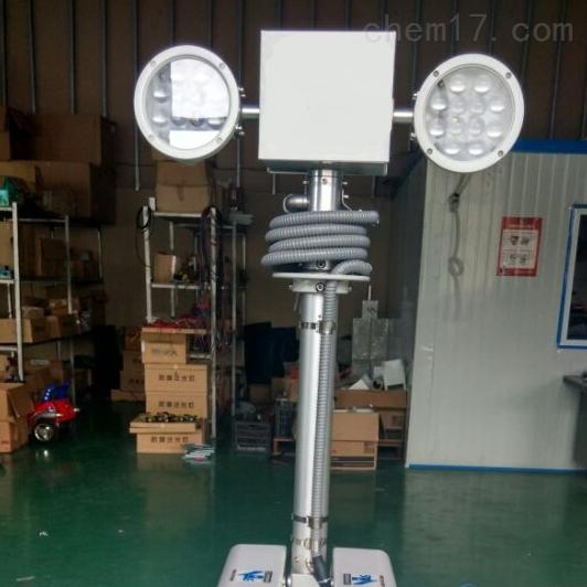 曲臂升降照明灯1.8米升降式云台车载设备