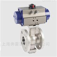 气动V型球阀 可配定位器