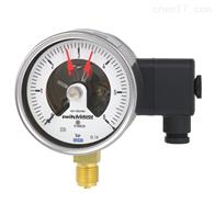 PGS21.100, PGS21.160德国WIKA威卡带开关电接点波登管压力表