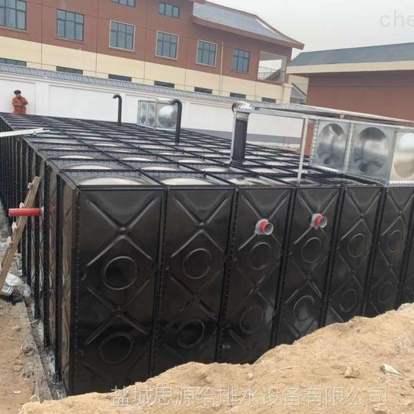 常州地埋式消防增压箱泵一体化