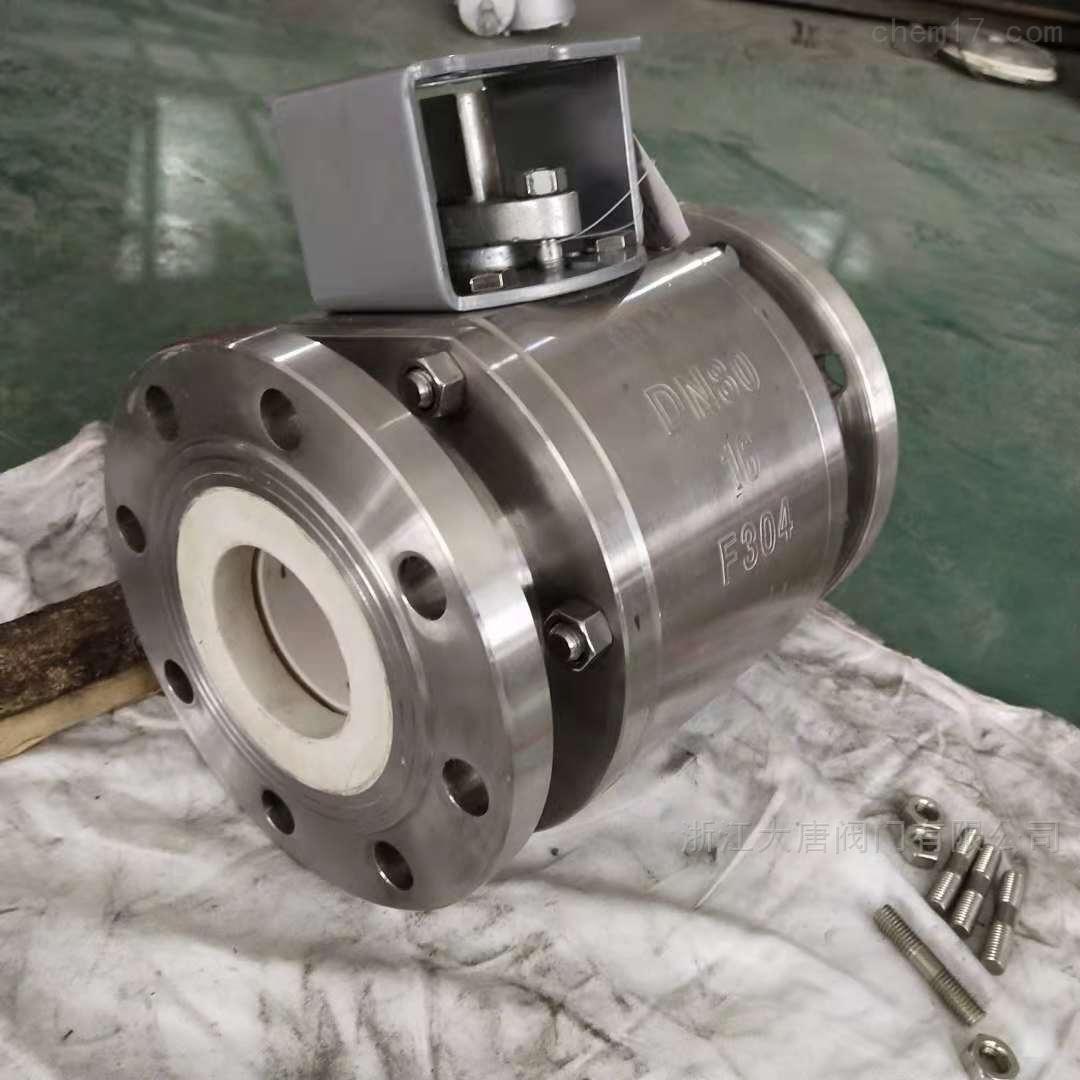 Q41TC-10P耐磨不锈钢陶瓷球阀