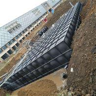 琼海地埋式箱泵一体化地基说明
