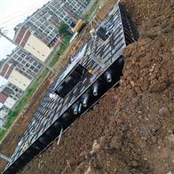 九江抗浮箱泵一体化消防泵站