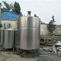 转让二手1500升蒸汽加热不锈钢搅拌罐