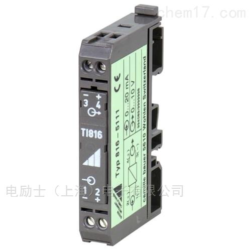 无源信号转换器_隔离器SINEAX TI816-5