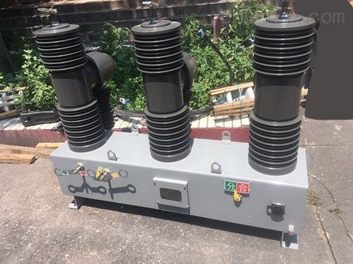 兰州35KV柱上高压开关杆上安装