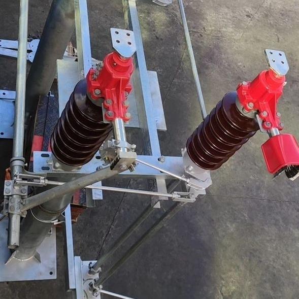 成都市硅橡胶GW4-35kv柱上隔离开关