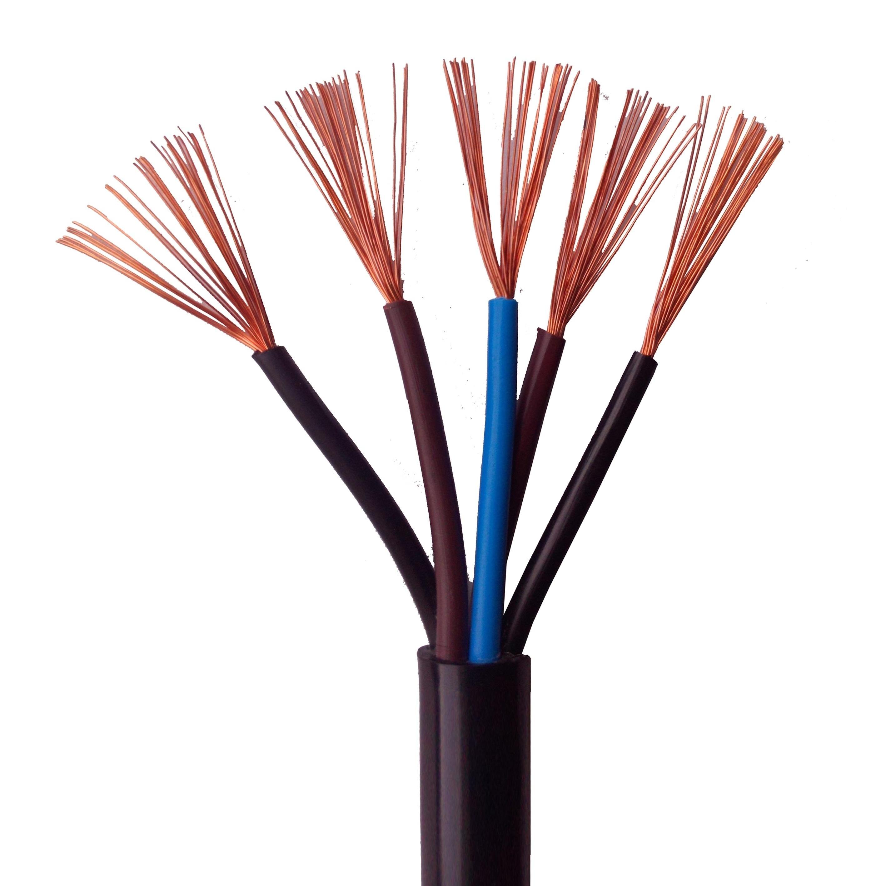 国标铜芯阻燃电缆ZRRVV型号齐全