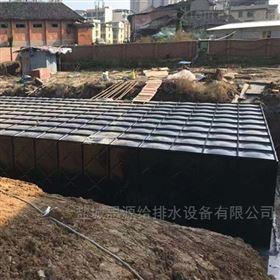 地埋水箱西安抗浮式箱泵一体化消防泵站发货安装