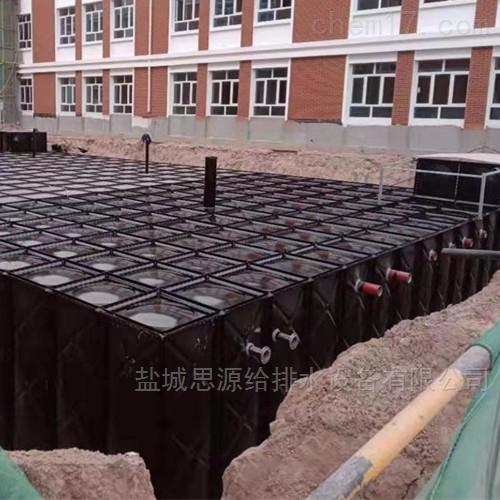 开封抗浮地埋式消防一体化水箱的优势