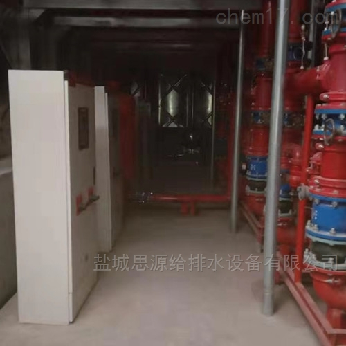新型地埋式箱泵一体化消防泵站