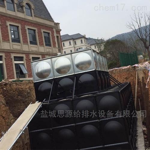 广东东莞地埋式消防一体化水箱发货