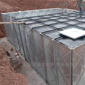 成品发货宝鸡地埋式消防水箱一体化泵站