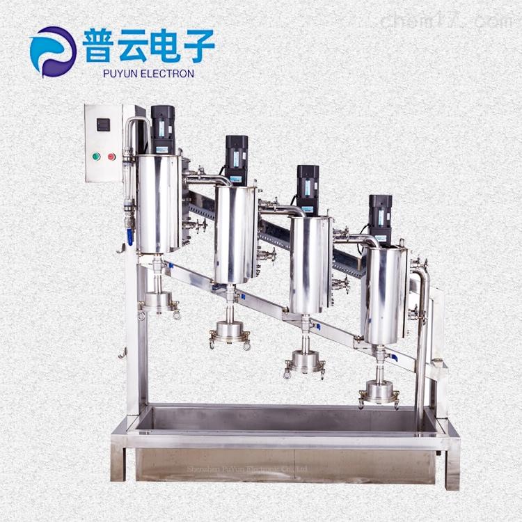 深圳普云PY-Y818鲍尔式纸浆纤维筛分仪 造纸检测仪器 纸浆制浆仪器设备