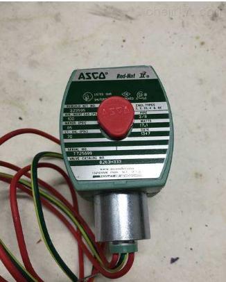 代理ASCO电磁阀NF8327B002 24VDC现货少量