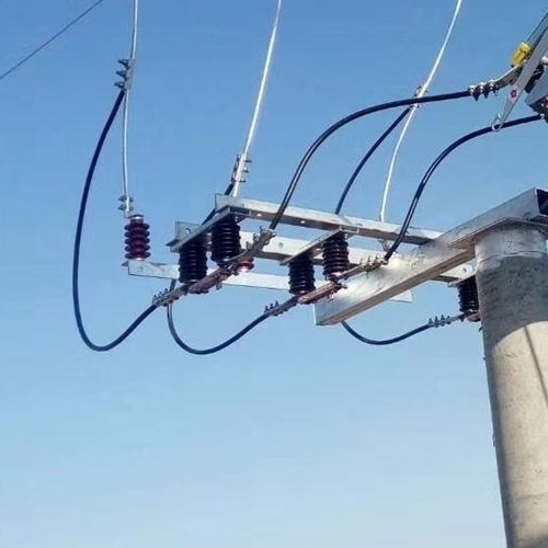 硅橡胶35kv户外高压GW4隔离开关线路型国网